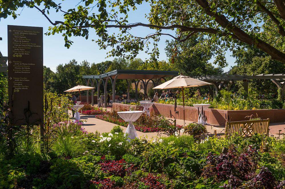 Annuals garden and pavilion denver botanic gardens for American garden company
