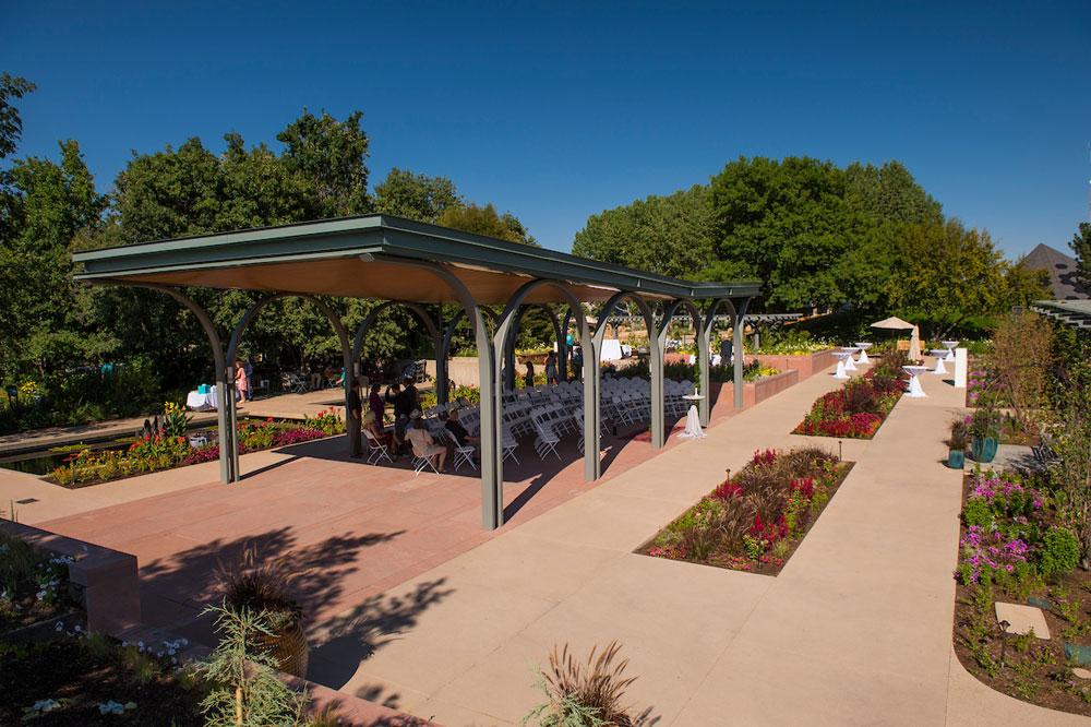 Annuals Garden and Pavilion | Denver Botanic Gardens