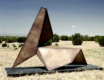 Sculpture by American Modernist Allan Houser (Warm Springs Chiricahua Apache, 1914-1994).