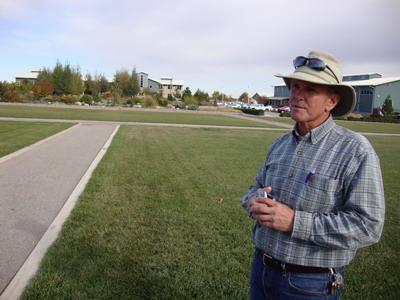 Ron Boyd, horticulturist at Berthoud Water Conservation gardens