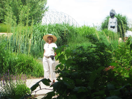 At Denver Botanic Gardens in early summer