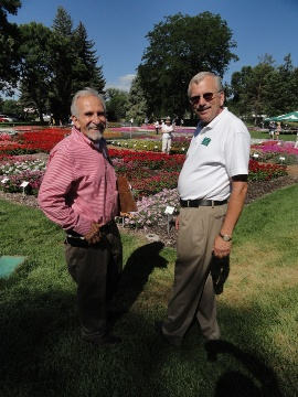 Al Gerace Of Welby Gardens And Dr. James Klett Of CSU