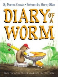 This funny diary will be read before we make our compost bins with worms.