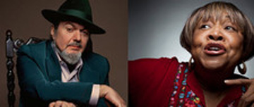 Dr. John and Mavis Staples