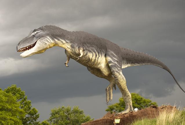 """Jurassic Gardens"" York Street Dinosaur"