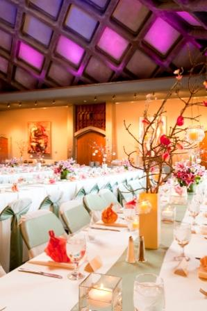 Mitchell Hall Wedding Reception