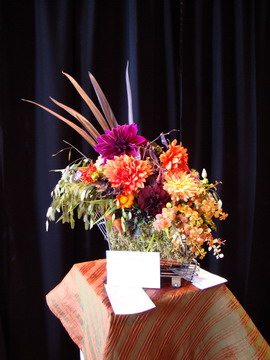 Denver Garden Club flower arrangement