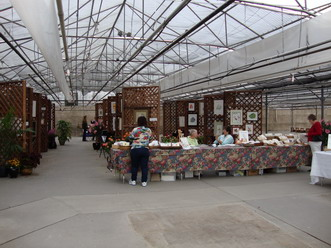 Part of the Rocky Mountain Society of Botanical Artist's show at Echter's Garden Center