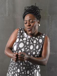 Sharon Jones (photo by Steven Dewall)