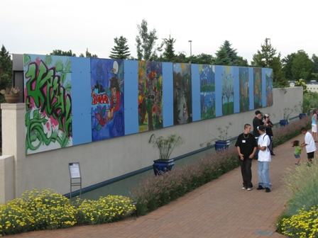 Youth Enjoy Urban Nature at the Gardens