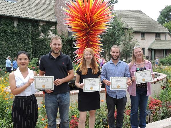 2016 Denver Botanic Gardens Horticulture Interns