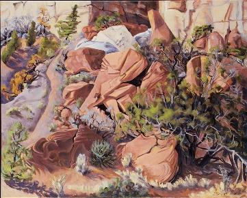 Duesberry, Rock Fall, NM