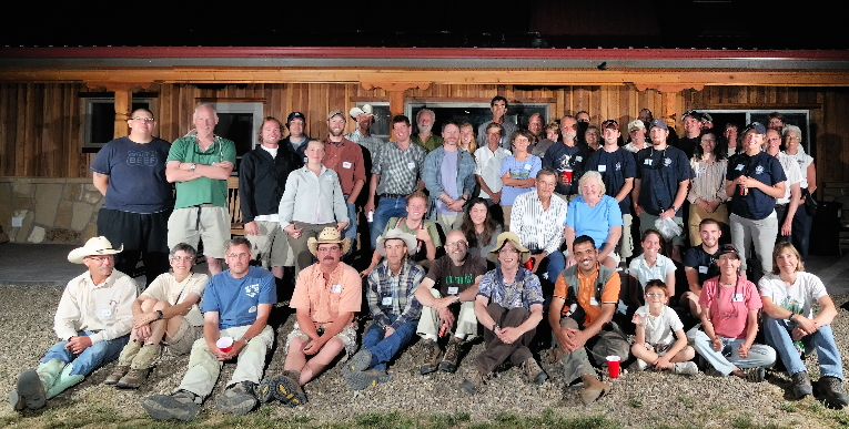 Biologists, ranchers, and other interested folk who participated in the first JE Canyon Ranch Bioblitz