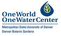 One World One Water Center logo