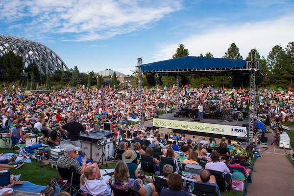 Booking artists for the summer concert series denver botanic gardens for Botanical gardens concert series