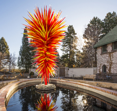 'Colorado' by Dale Chihuly, Denver Botanic Gardens, 2014