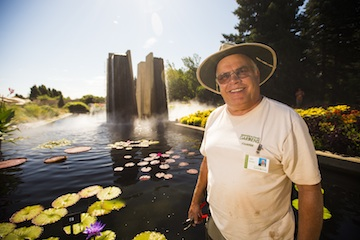 Denver Botanic Gardens volunteer