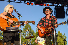 Emmylou Harris and Rodney Crowell - photo by Kate Battan