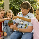Children's education programs at Denver Botanic Gardens