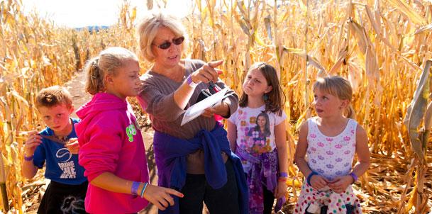 Chatfield Botanic Gardens Opens Their Corn Maze