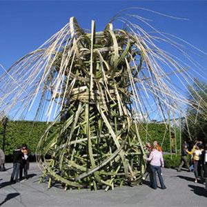 Kizuna Bamboo tower