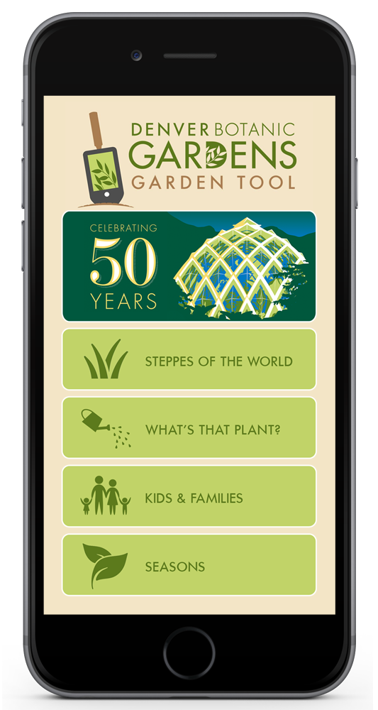 Garden Tool Mobile Website Denver Botanic Gardens