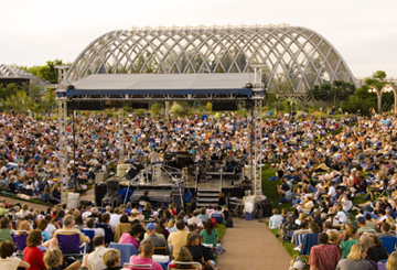 Summer concert series for Botanical gardens concert series